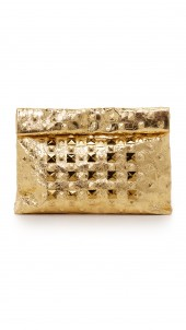 Crystal Stud Lunch Clutch