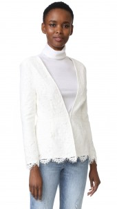Tess Fitted Lace Blazer