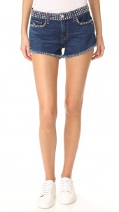 Zoe Studded Shorts