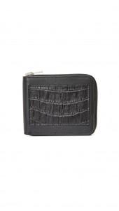 Zipped Bifold Wallet