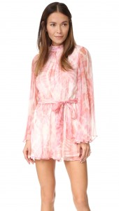 Winsome Flare Sleeve Romper