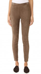 Wilton Faux Suede Leggings