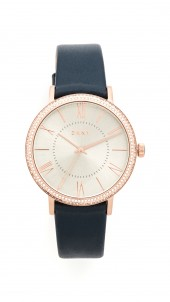 Willoughby Leather Strap Watch