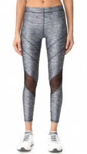 Varsity Mesh Heathered Leggings