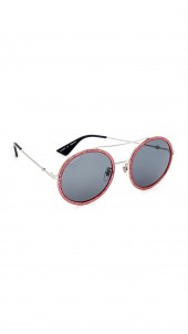 Urban Web Block Round Aviator Sunglasses