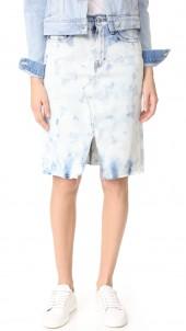 Trystan Skirt with Raw Hem