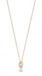 Tiny Diamond Necklace