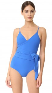 Timeless Basics Wrap Swimsuit