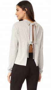 Tie Back Pull Over