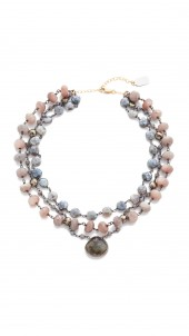 3 Strand Luxe Multi Choker Necklace