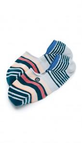 Tea Stripe Super Invisible Socks