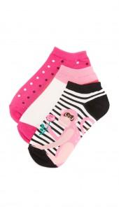 Stripe Monkey Sock Set