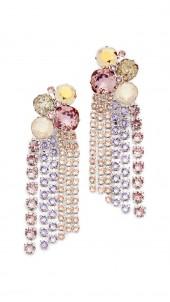 Stone Cascade Earrings