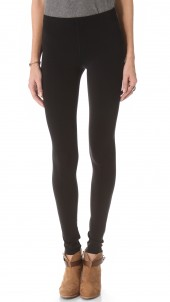 Stitched Fleece Lined Leggings