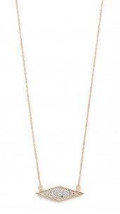 Solid Pave Diamond Necklace
