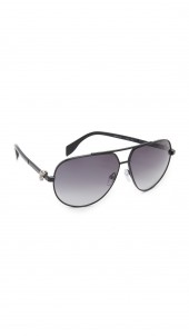 Skull Aviator Sunglasses