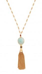 Serti Tassel Necklace