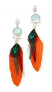 Serti Plume Earrings