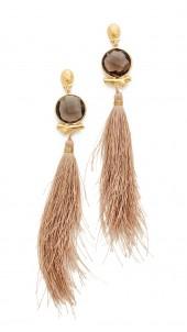 Serti Bella Pompon Earrings