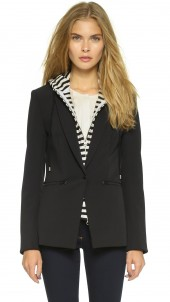 Scuba Jacket with Stripe Sweater Dickey