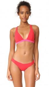 Savannah Sunset Cross Back Bikini Top