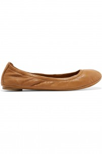 Eddie leather ballet flats