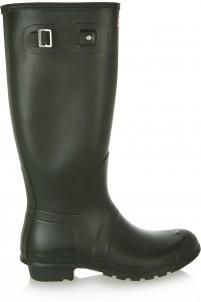 Tall Wellington rubber rain boots