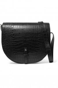 Kilimangiaro croc-effect leather shoulder bag