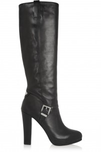 Tamara leather knee boots