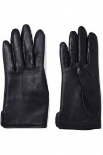 Stella wool-lined leather gloves