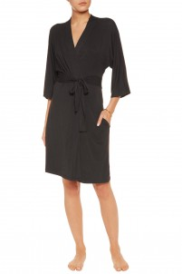 Stretch-modal jersey robe