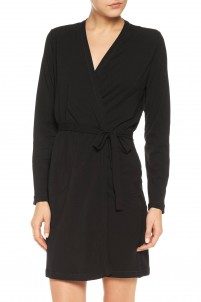 Stretch-Pima cotton robe