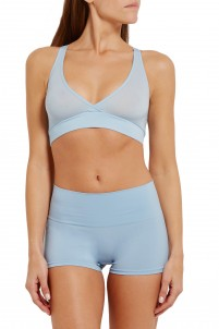 Mallory stretch-jersey soft-cup bra