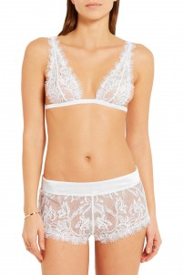 Merveille Chantilly lace soft-cup bra