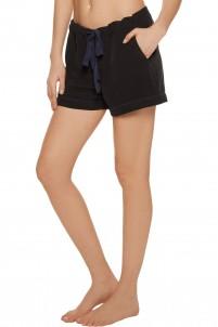 Liliana washed-silk pajama shorts