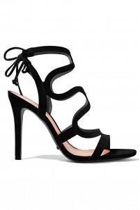 Lacie cutout suede sandals