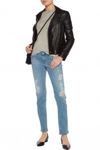 Stilt low-rise skinny jeans
