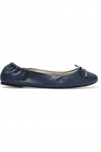 Melody leather ballet flats