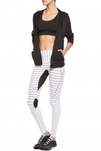 Nordica paneled striped leggings