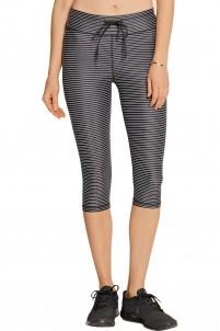 Lauren striped stretch-jersey leggings