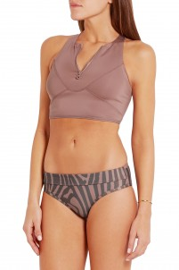 Racer-back bikini top