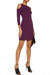 Clarke cutout stretch-knit mini dress