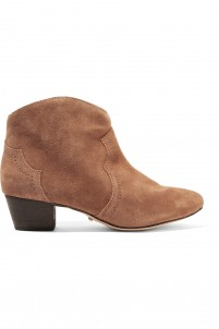 Abiha suede ankle boots