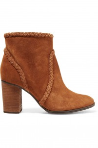 Silman braided suede ankle boots