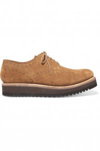 Lucy suede brogues