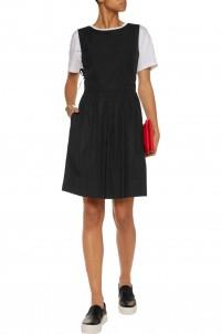 Sretch-cotton dress