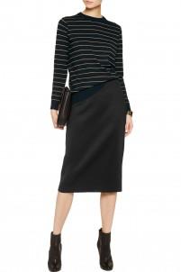 Scuba-jersey skirt