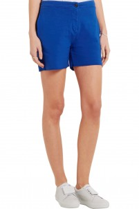 Gioia cotton-blend jersey shorts