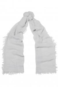 Devon frayed cashmere scarf