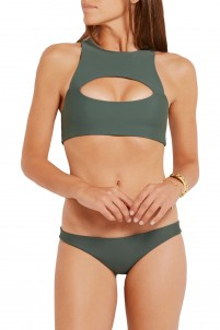 Marrakesh cutout bikini top